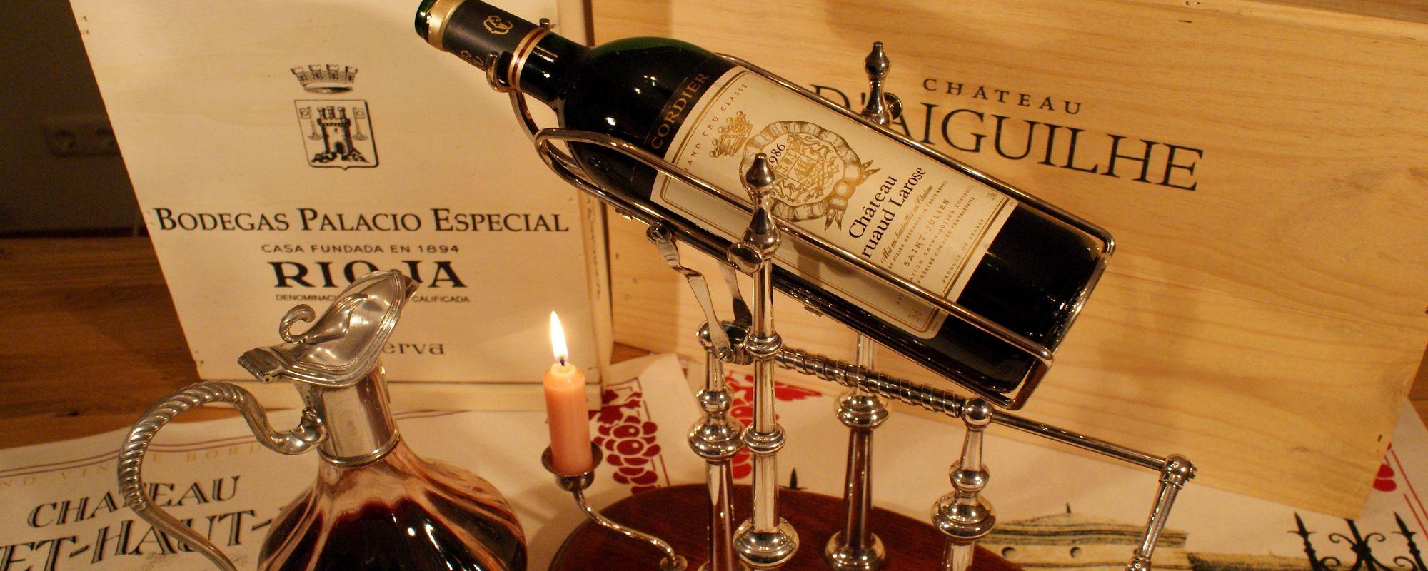 Dienstleistungen rund um Wein: Weinseminare, Weinreisen, Weinverkauf und mehr.