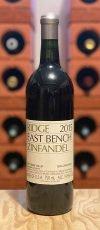 Zinfandel East Bench 2015 Ridge Vineyards Sonoma Valley Kalifornien USA Rotwein